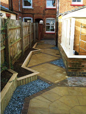 Garden Designs For Long Gardens. Stunning Garden With Garden Designs ...
